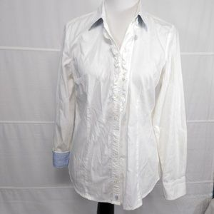 TOMMY HILFIGER Women Long Sleeve Shirt Size L